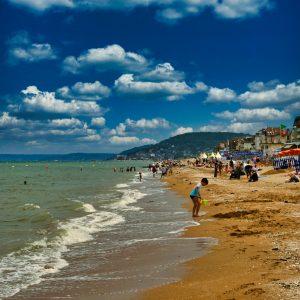 La plage de Balbec